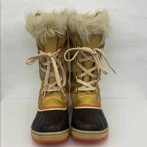 Sorel Girl Snow Boots Sz 3